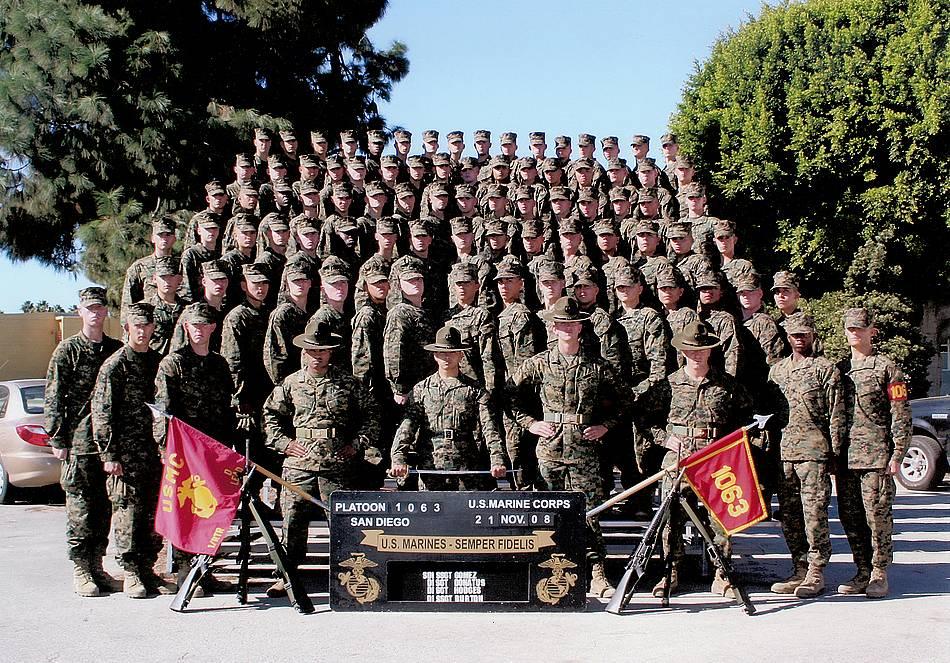Marine Corp Family Photos