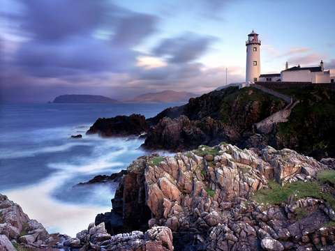 Lighthouse Donegal Ireland